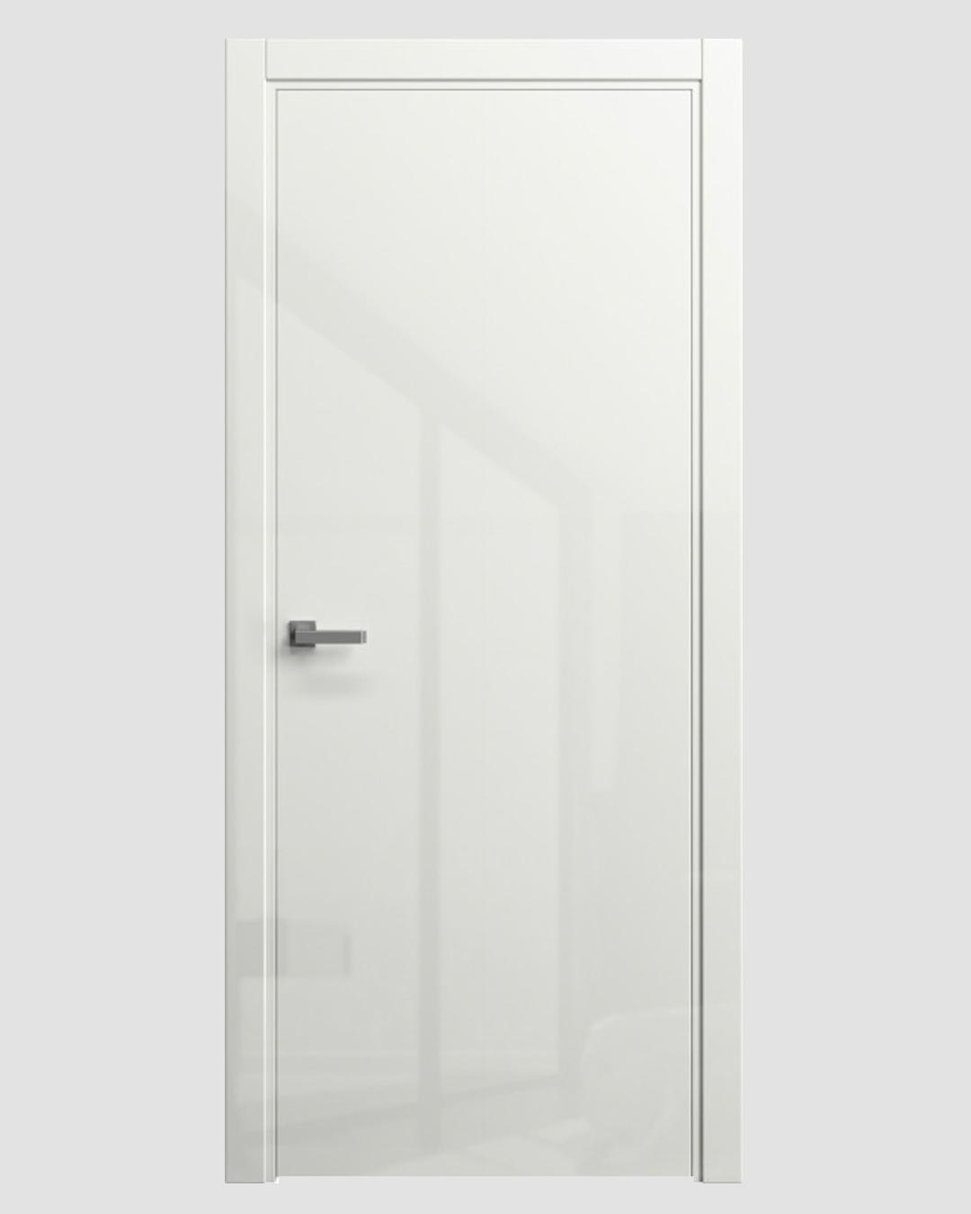 Какие бывают покрытия у белых дверей?