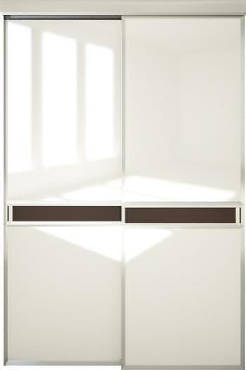 Межкомнатная дверь Софья.  Модель со вставкой (А1) Коллекция Scala.