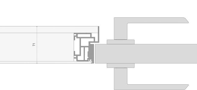 Короб алюминиевый Invisible на себя - для всех моделей
