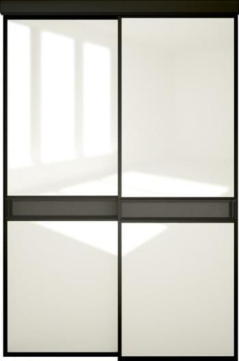 Межкомнатная дверь Софья.  Модель со вставкой (А7) Коллекция Scala.